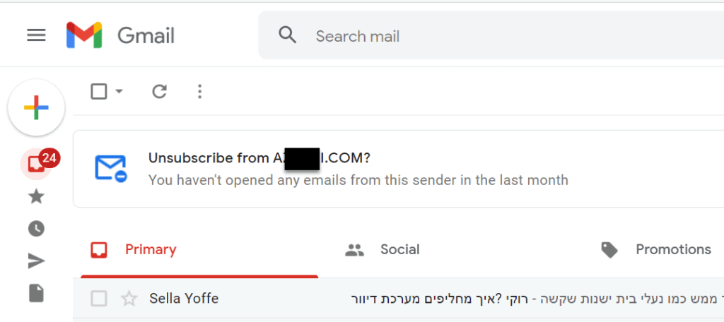 gmail auto unsubscribe