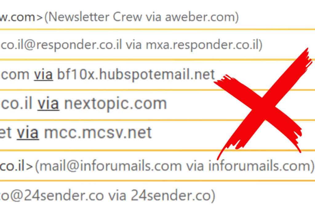 WP send email via